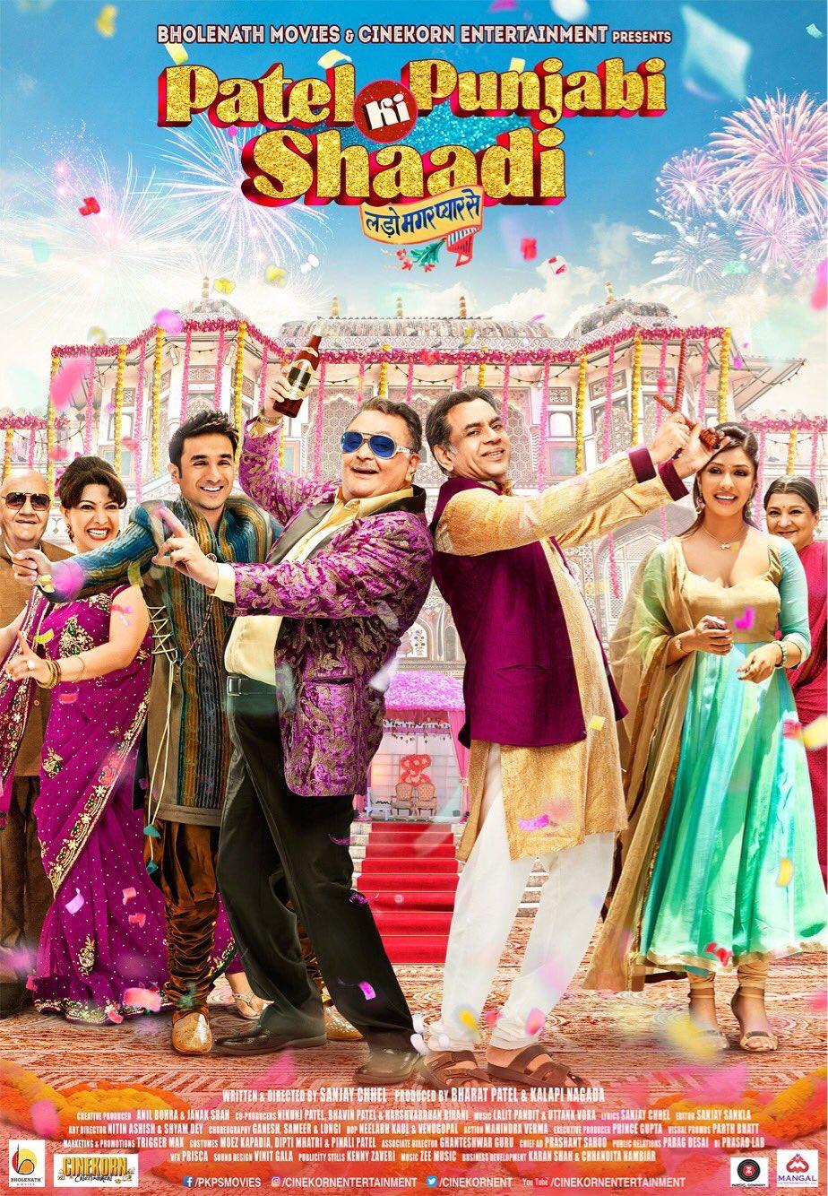 Download Patel Ki Punjabi Shaadi (2017) Hindi Full Movie 720p [600MB] HEVC HDRip ESubs