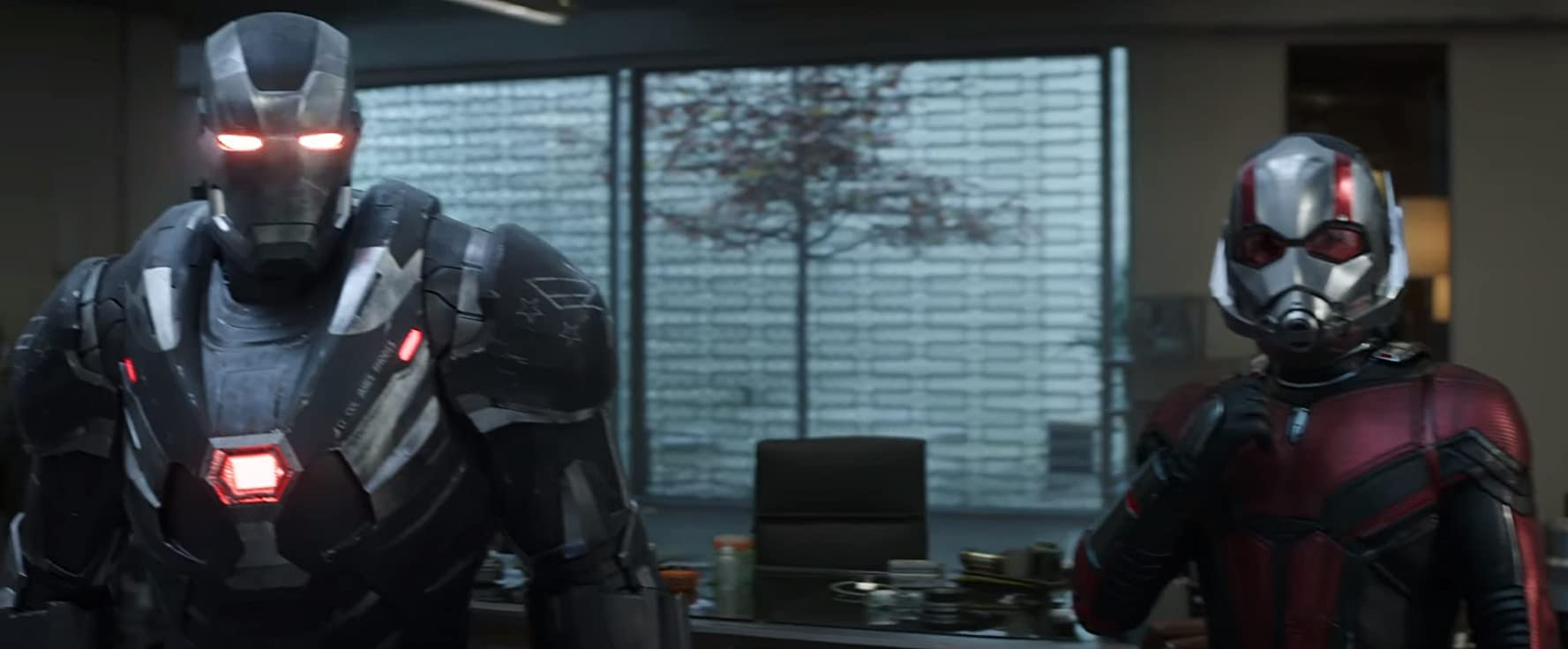 Don Cheadle and Paul Rudd in Avengers: Endgame (2019)