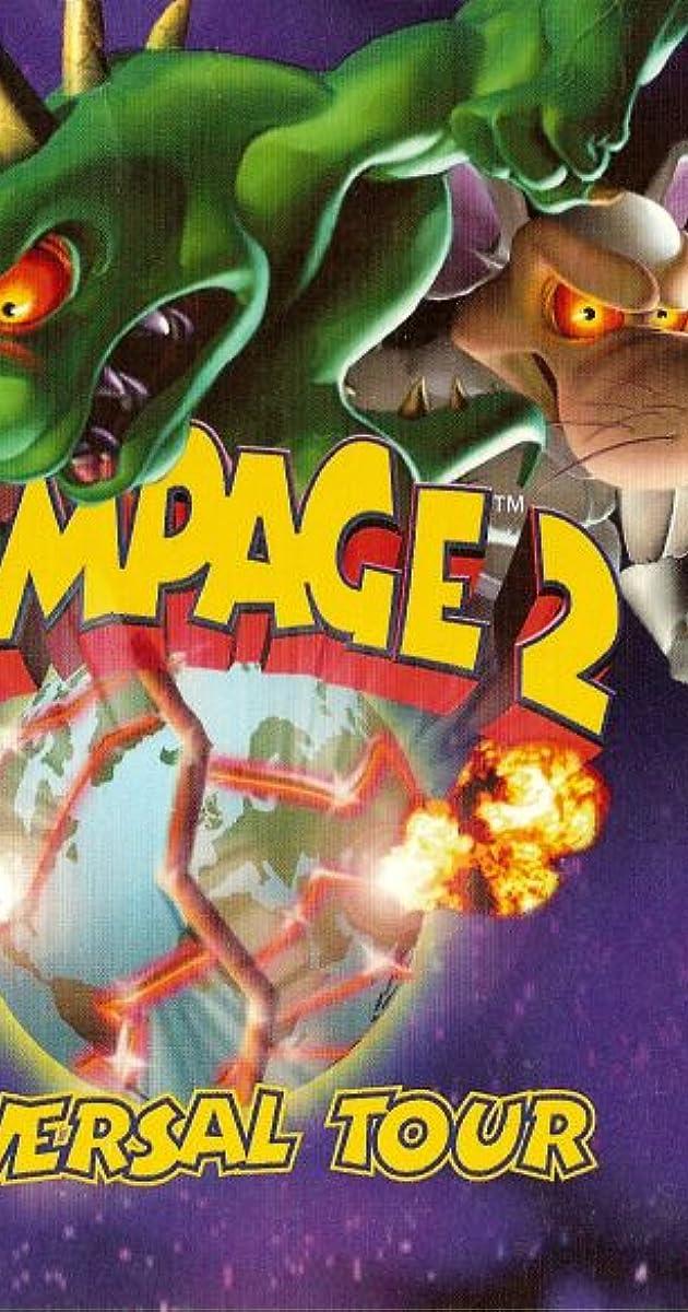 Rampage 2 Universal Tour Video Game 1999 Imdb