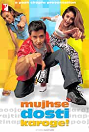 Mujhse Dosti Karoge (2002) Hindi 720p HEVC HDRip x265 AAC MSubs Full Bollywood Movie [750MB]