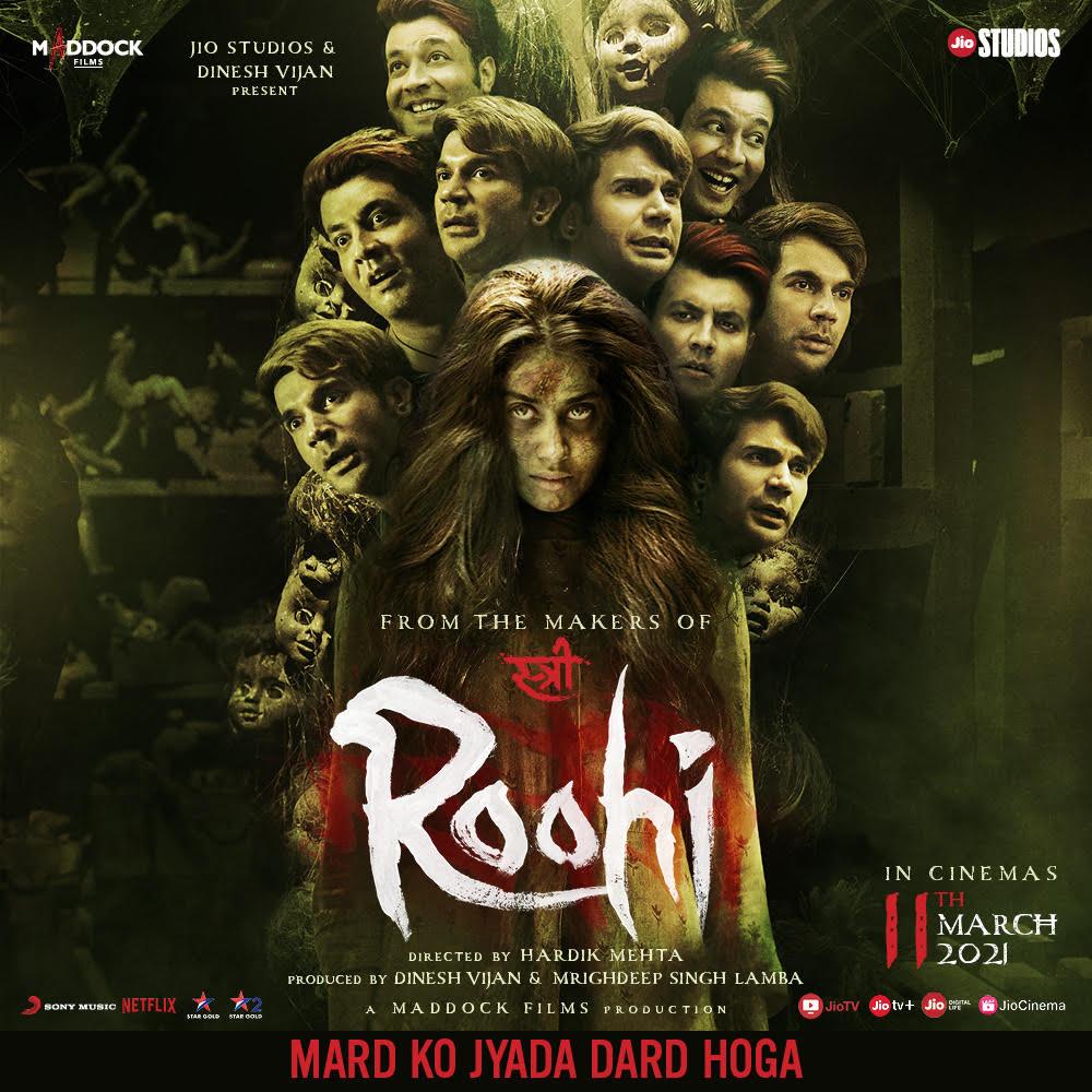 Roohi 2021 Hindi 480p | 720p NF HDRip  400MB | 1.3GB Download