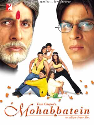 Download Mohabbatein (2000) Hindi Full Movie 480p [600MB] | 720p [1.9GB] | 1080p [3GB]