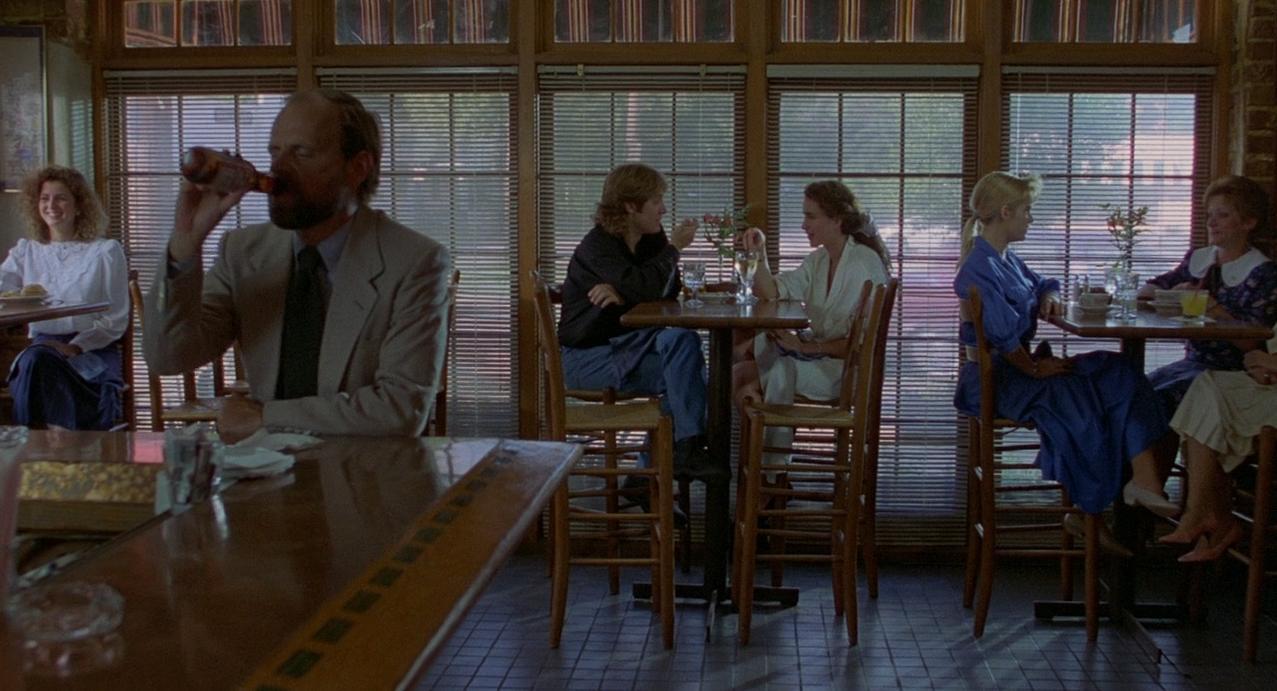 Andie MacDowell y James Spader en Sex, Lies, and Videotape (1989)