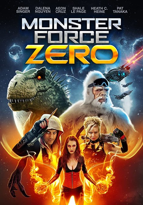Omid Harrison, Shale Le Page, Aeon Cruz, and Cali June in Monster Force Zero