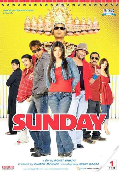 Download Sunday full movie (2008) Hindi 480p WEB HDRip 350MB