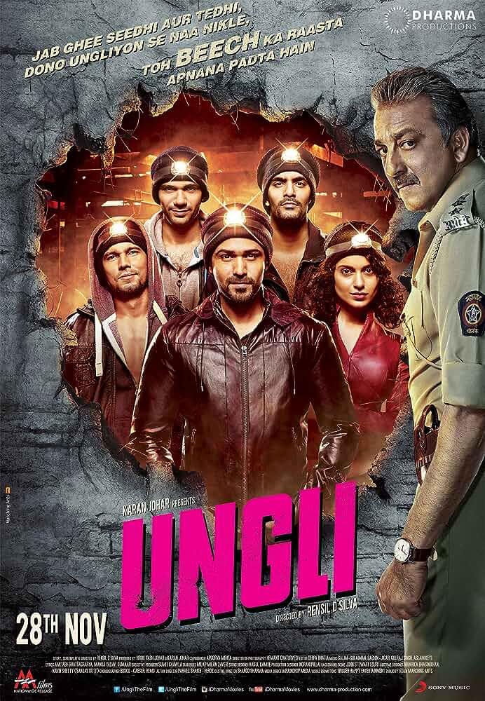 Download Ungli (2014) Full Movie  In Hindi Bluray 480p [300MB] | 720p [1GB]