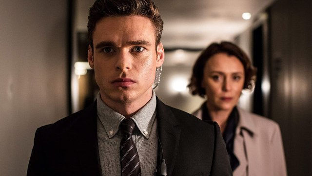 Keeley Hawes and Richard Madden in Bodyguard review(2018)