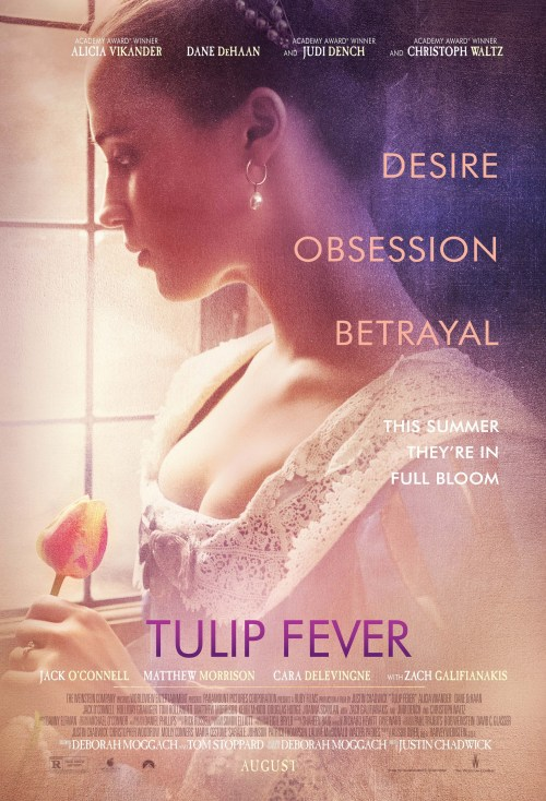 August 2017 Adaptations - Tulip Fever Poster
