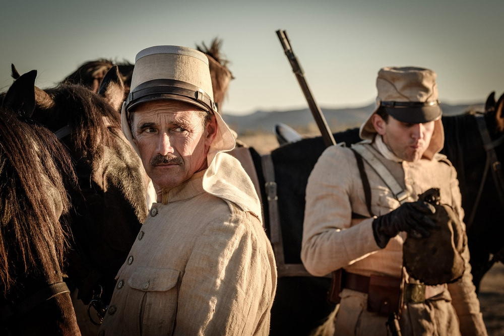 Mark Rylance in Waiting for the Barbarians (2019)