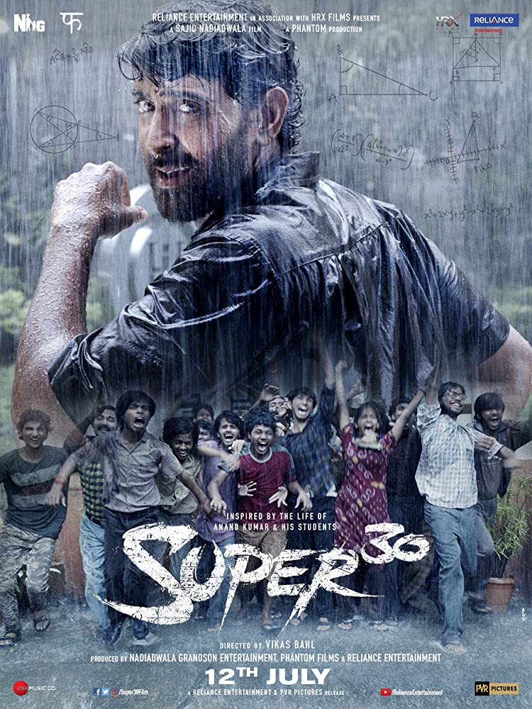 Super 30 Release Date, Star Cast, Trailer, Poster