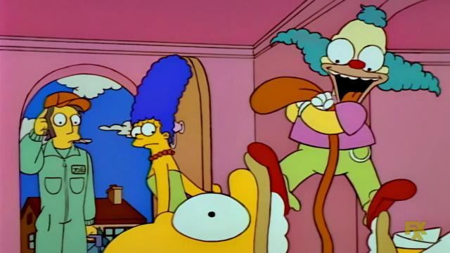 Julie Kavner and Dan Castellaneta in The Simpsons (1989)