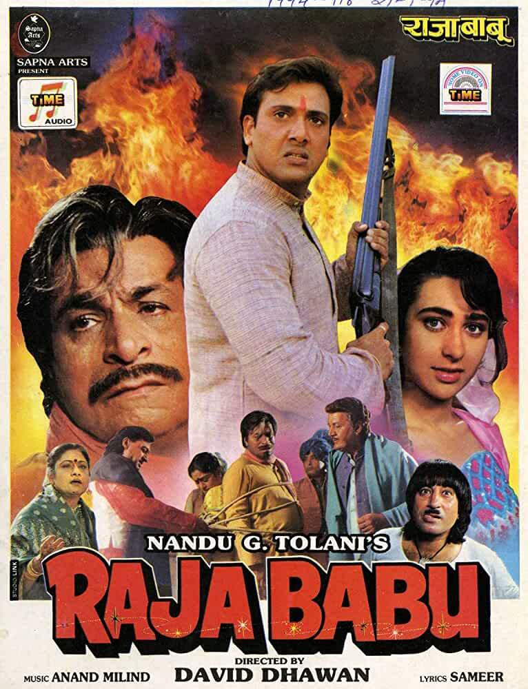 Download Raja Babu (1994) Hindi Full Movie BluRay 480p | 720p | 1080p