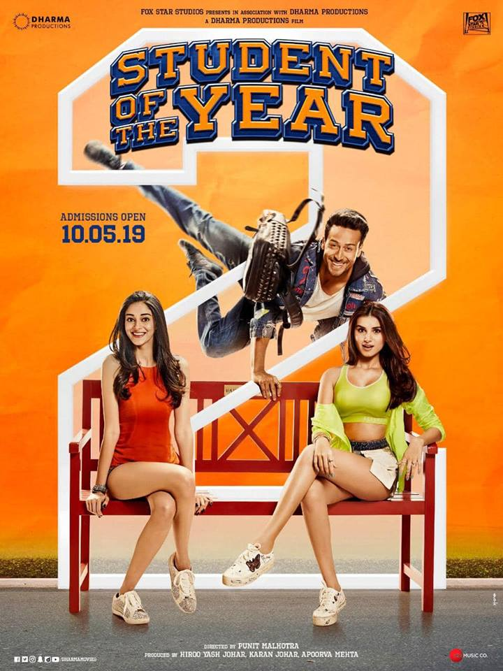 upcoming bollywood movie student of the year 2 details