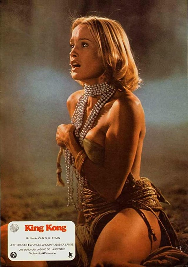 Jessica Lange in King Kong (1976)