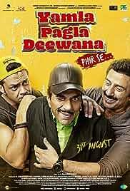 Download Yamla Pagla Deewana Phir Se 2018 Hindi 480p | 720p HDRip