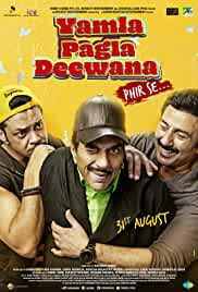 Yamla Pagla Deewana: Phir Se (2018) Hindi 720p HEVC HDRip x265 AAC Full Bollywood Movie [700MB]