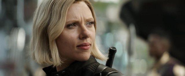 Scarlett Johansson in Avengers: Infinity War (2018)