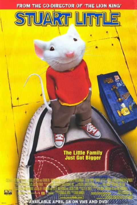 Stuart Little (1999) Dual Audio {Hindi-English} 480p| 720p
