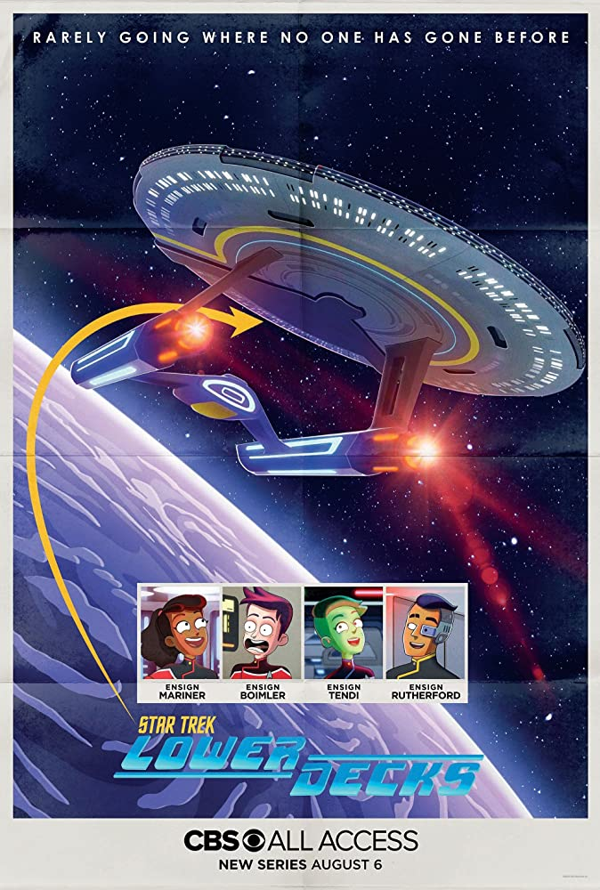 Póster de Star Trek: Lower Deckses/ Foto: cortesía IMDd