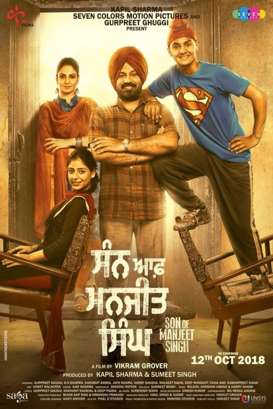 Son of Manjeet Singh (2018) Punjabi 720p | 480p HEVC HDRip x265 AAC ESubs Full Punjabi Movie [800MB]