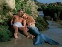 Michelle Phillips and John Saxon in Fantasy Island (1977)