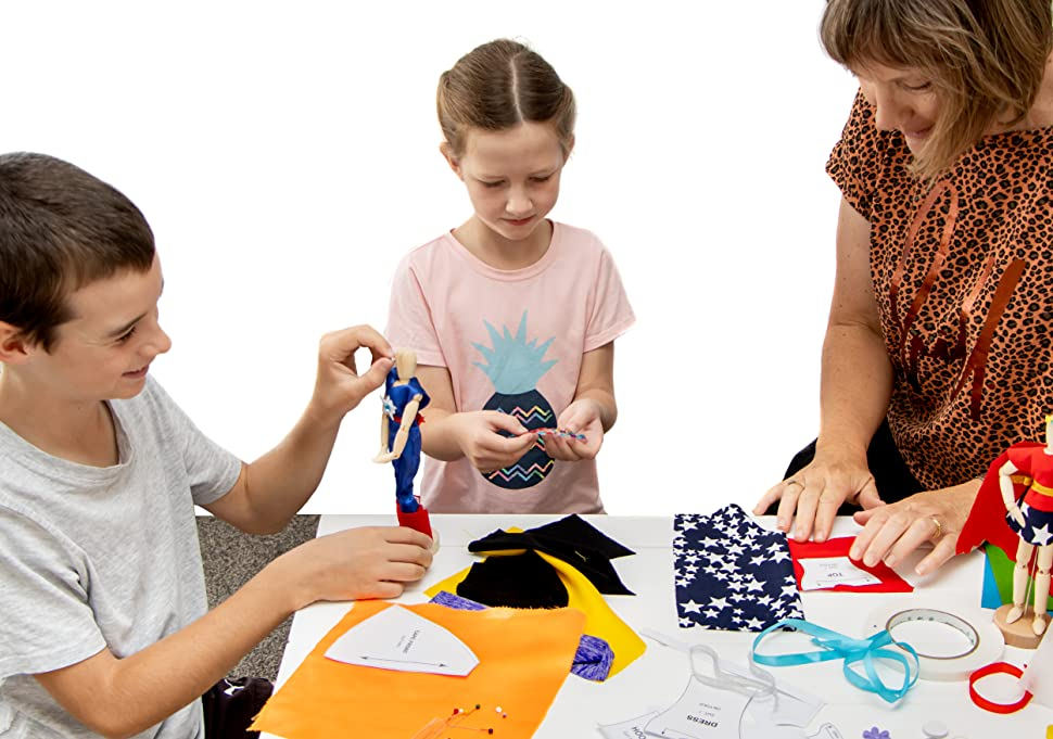 Learn to Sew Kits for Kids