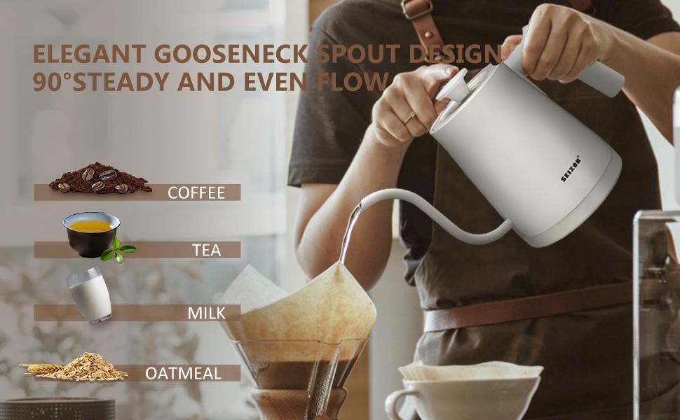 Electric Gooseneck Kettle Coffee Kettle