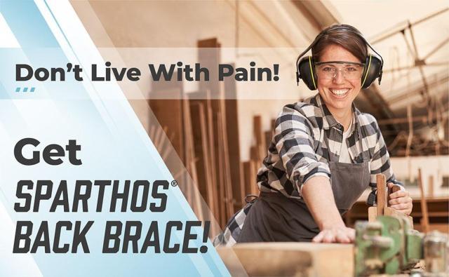 sparthos back brace for lower back pain