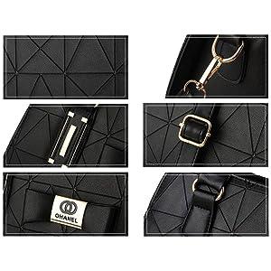 durable leather handbag with hanging belt hanging bag women