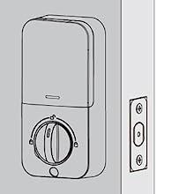 Suitable for Right & Left Handed Door