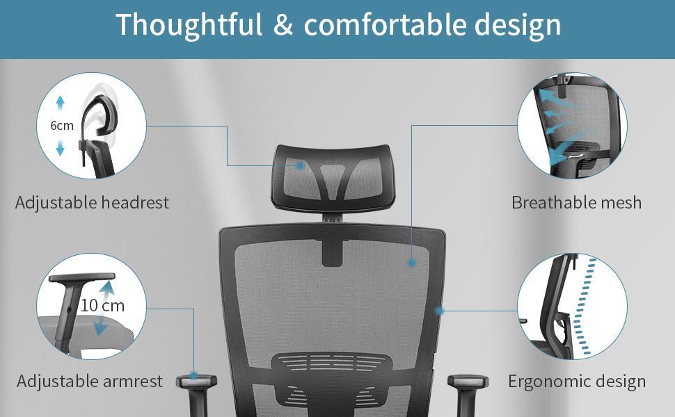 ergonomic office chair 16-1