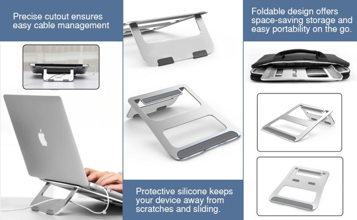 Foldable Portable Laptop Stand