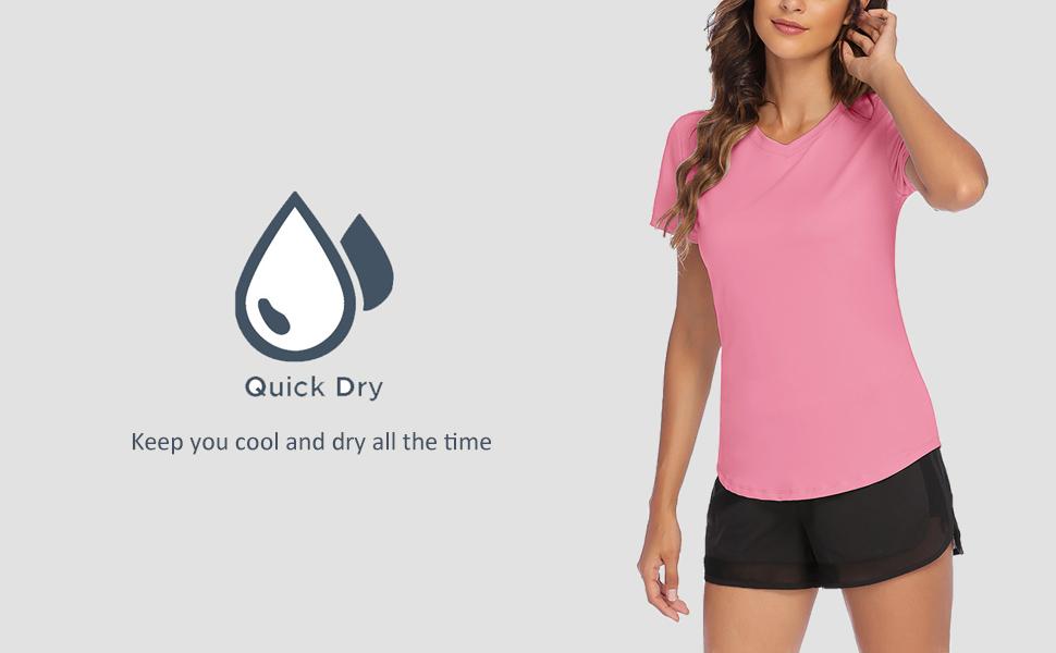 lightweight smooth T-shirt for women summer