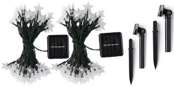 Star Solar Lights Outdoor Decorative warm white