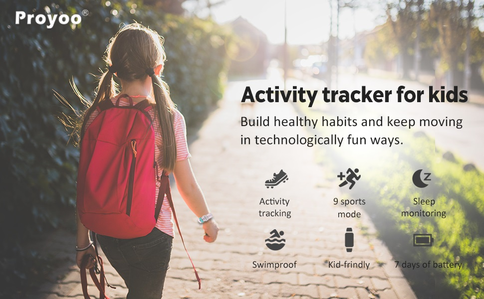 Activity tracker for kids.