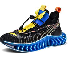 Mens Slip on Sports Tennis Running Shoes Casual Wide Walking Fashion Sneakers