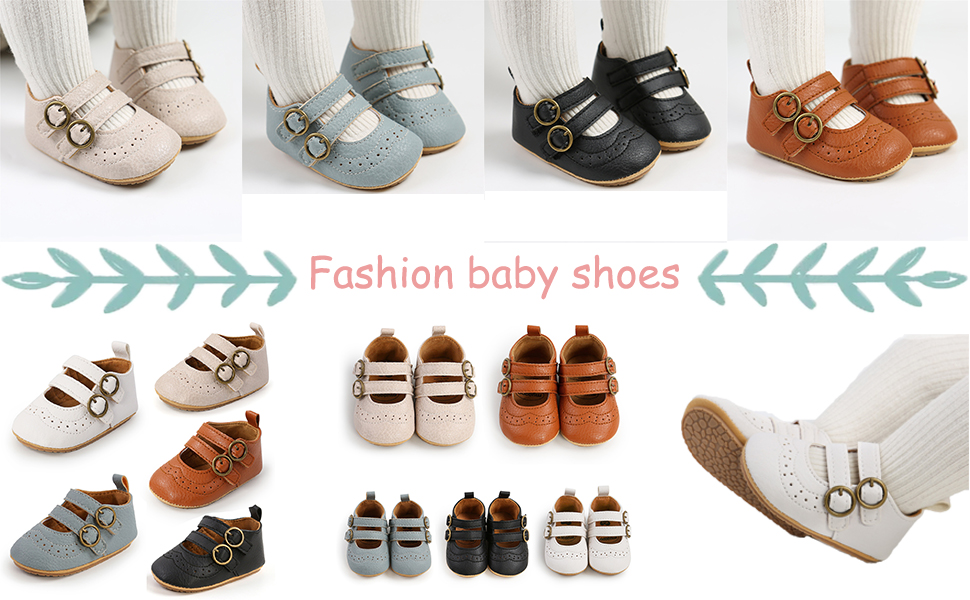 Girls' shoes, PU leather flat shoes, baby princess shoes, Mary Jane shoes, children's shoes