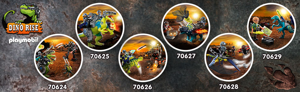 Check out all the other sets in the Dino Rise collection