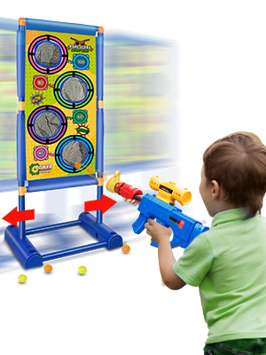 Moving Shooting Games Toy for Age 5 6 7 8 9 10 and Up Years Old Boys