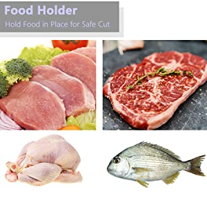 Hold Food Stable for cutting