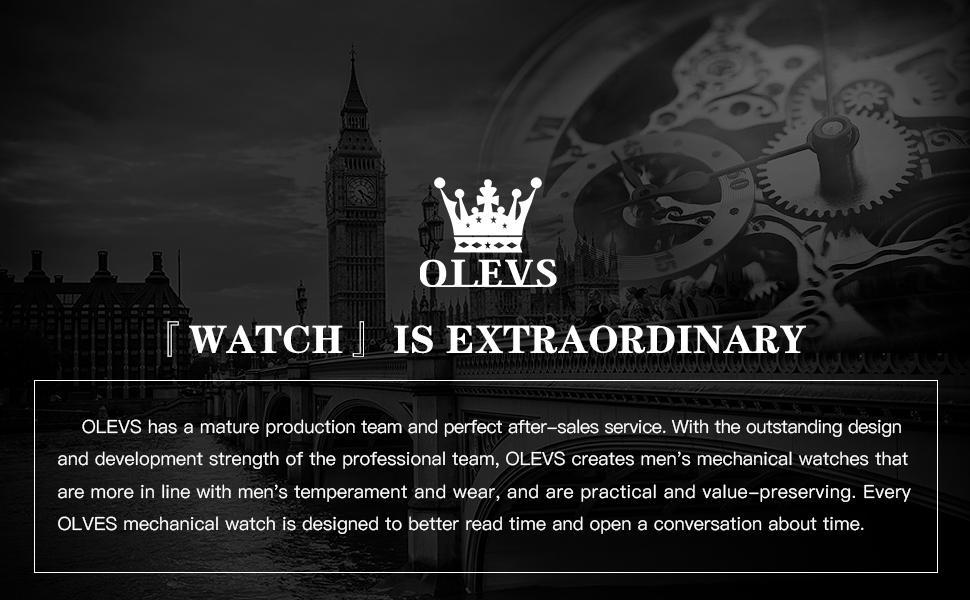 OLEVS mens watch