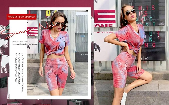 2 Piece Outfits for Women Sexy Casual