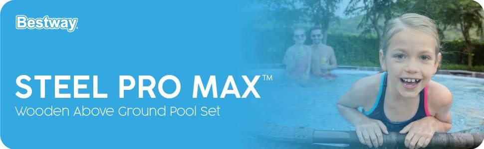 Pool, bestway pool, swimming pool, large pool, family pool, garden pool, above ground pool