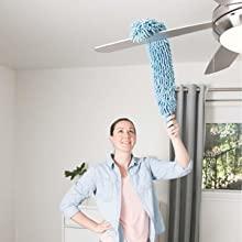 Foldable Microfiber Fan Cleaning