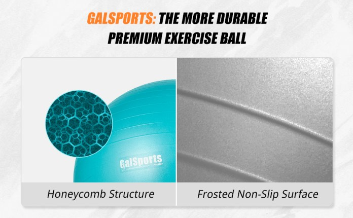 more durable exercise ball
