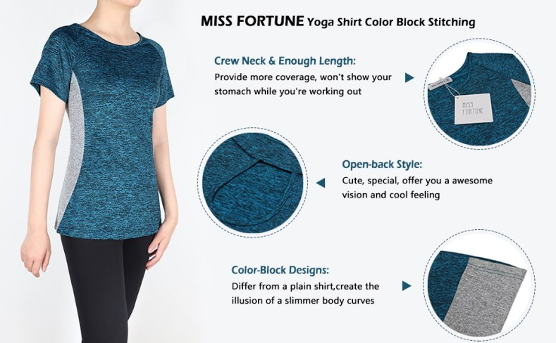 athletic shirts for women