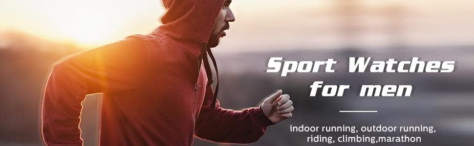 sports watches for men
