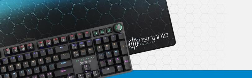 Periphio 4-in-1, Mouse Pad and Keyboard