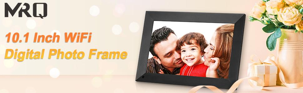 MRQ 10 Inch WIFI Digital Picture Frame-Presence of Your Beloved.