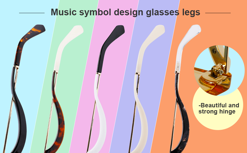 Curved leg shape, musical rune design